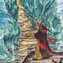 Moses near Red Sea